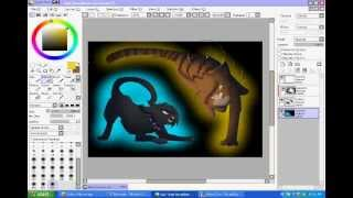 Warrior Cats Speedpaint - Scourge vs Tigerclaw