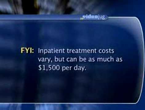What is the cost of inpatient treatment for addiction?