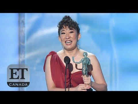 Sandra Oh's Emotional SAG Awards Acceptance Speech