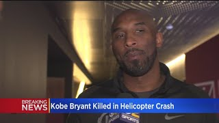 Kobe Bryant Dies At Age 41 In Helicopter Crash In Calabasas
