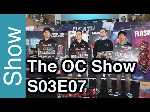 The OC Show - S03E07: G.Skill OC World Cup, HWBOT World Series, OC events in Indonesia and more!