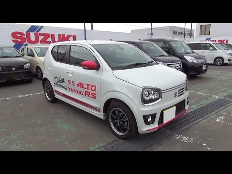 2015 SUZUKI ALTO TURBO RS 4WD - Exterior & Interior