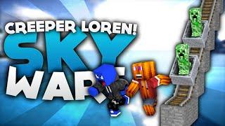 MEGA SCHIENENWEG MIT CREEPER BOMBER! - Minecraft Sky Wars! | DieBuddiesZocken
