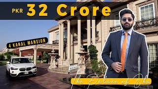 4 Kanal Victorian Royal Palace in DHA Lahore by Syed Brother l Price: 32 Crore