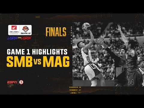 HIGHLIGHTS: Magnolia vs. San Miguel (VIDEO) Finals Game 1