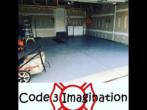 Garage rust oleum epoxy shield floor coating diy youtube garage rust oleum epoxy shield floor coating diy solutioingenieria Choice Image