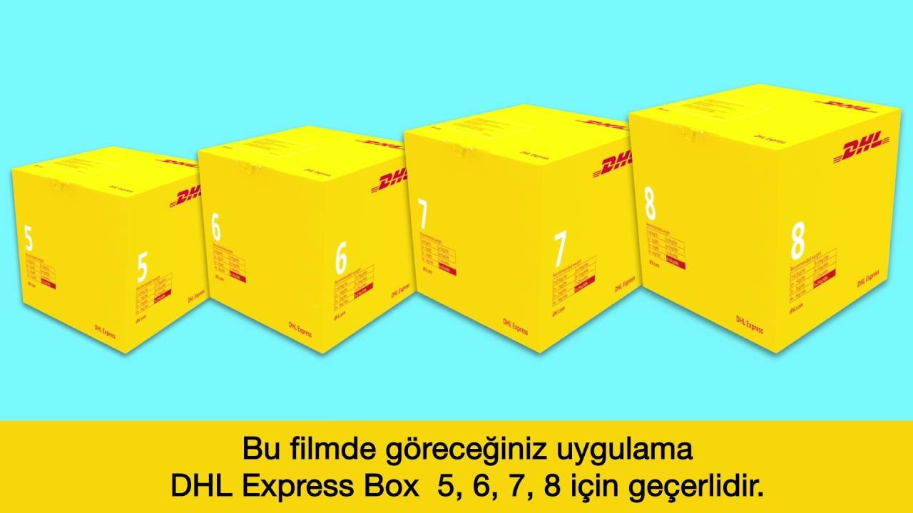 DHL Express Box 5,6,7,8