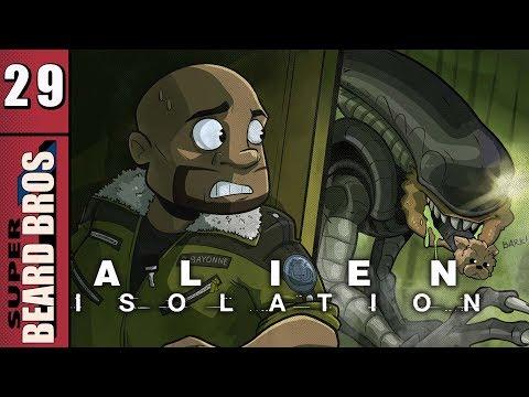 Alien Isolation | Let's Play Ep. 29 | Super Beard Bros.