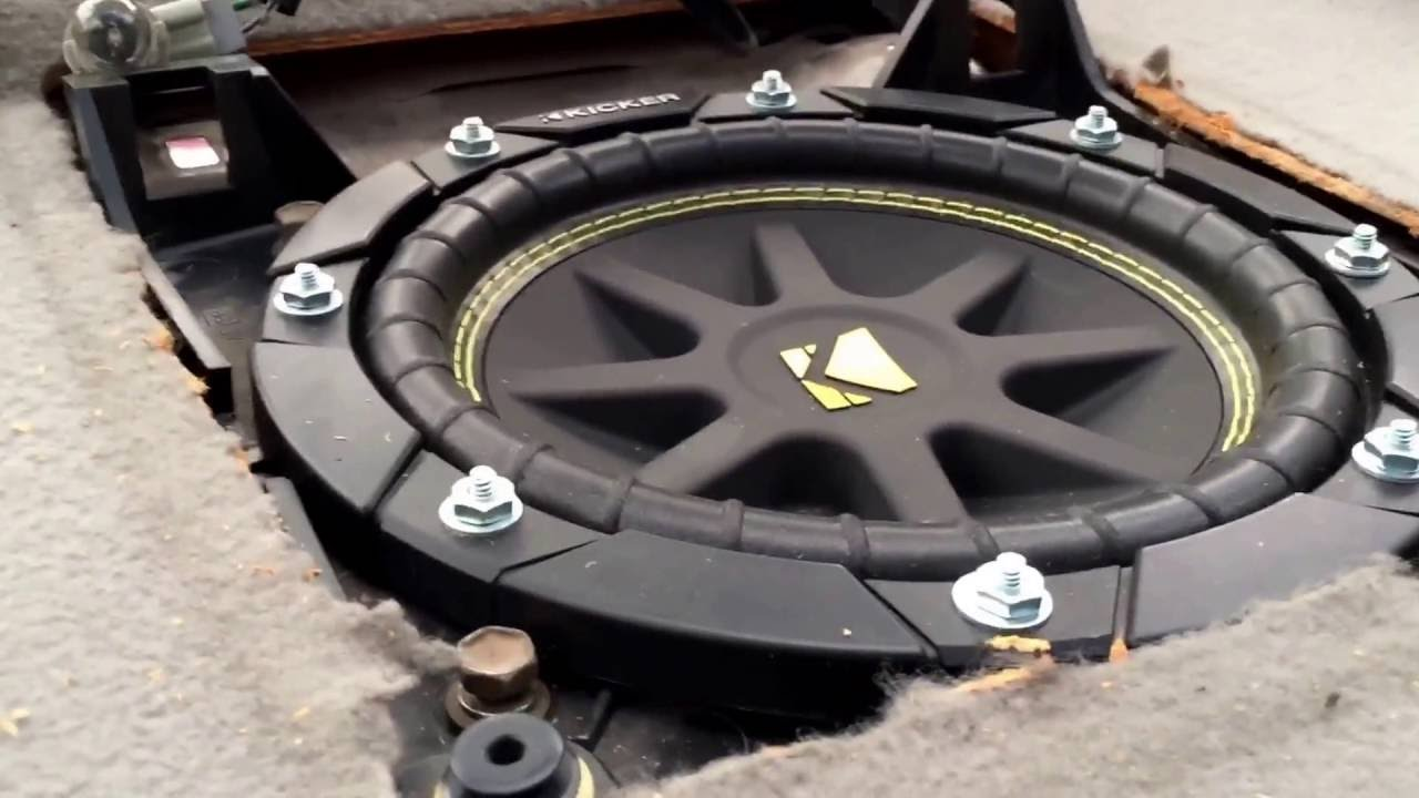 1999 toyota avalon subwoofer replacement [ 1280 x 720 Pixel ]