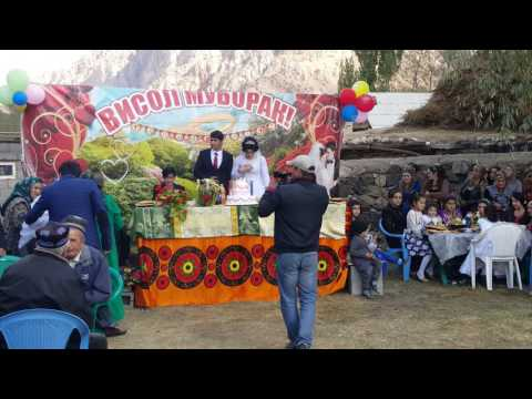 Wedding celebration in Tajikistan