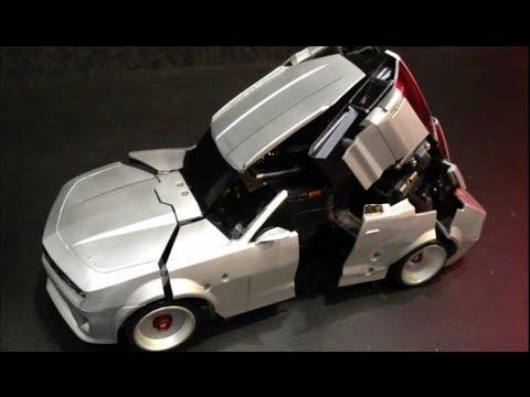 Keren Mainan Mobil Remot Kontrol Berubah Menjadi Robot Transpormer
