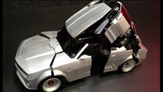 KEREN!!! MAINAN MOBIL REMOT KONTROL BERUBAH MENJADI ROBOT TRANSPORMER