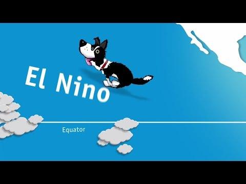 Climatedog Enso: a big influence on Australia's climate and seasonal variability (El Nino/La Nina)