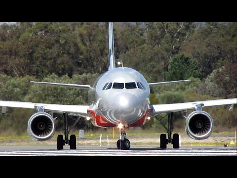 SCREAMING TAKEOFF | Jetstar Airbus A320-200 at Perth Airport