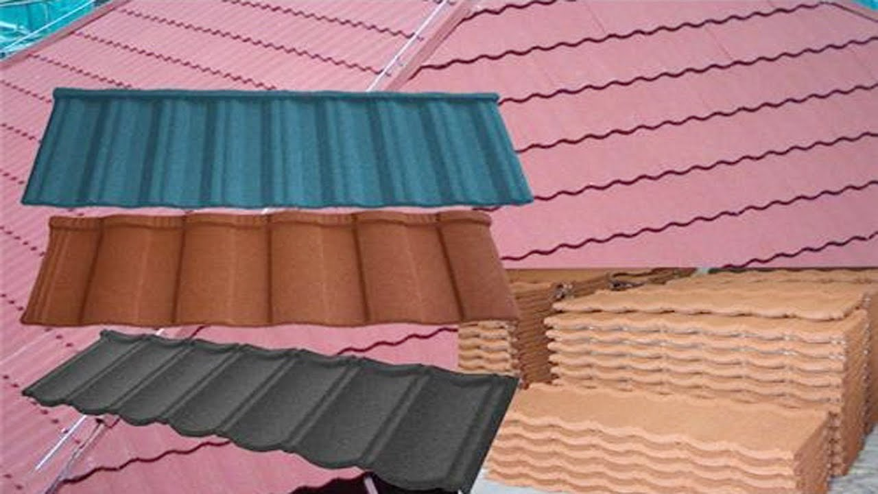 Animation About How To Install Colorful Stone Coated Metal Roof Tiles Stone Chip  Roofing Tiles Video   YouTube