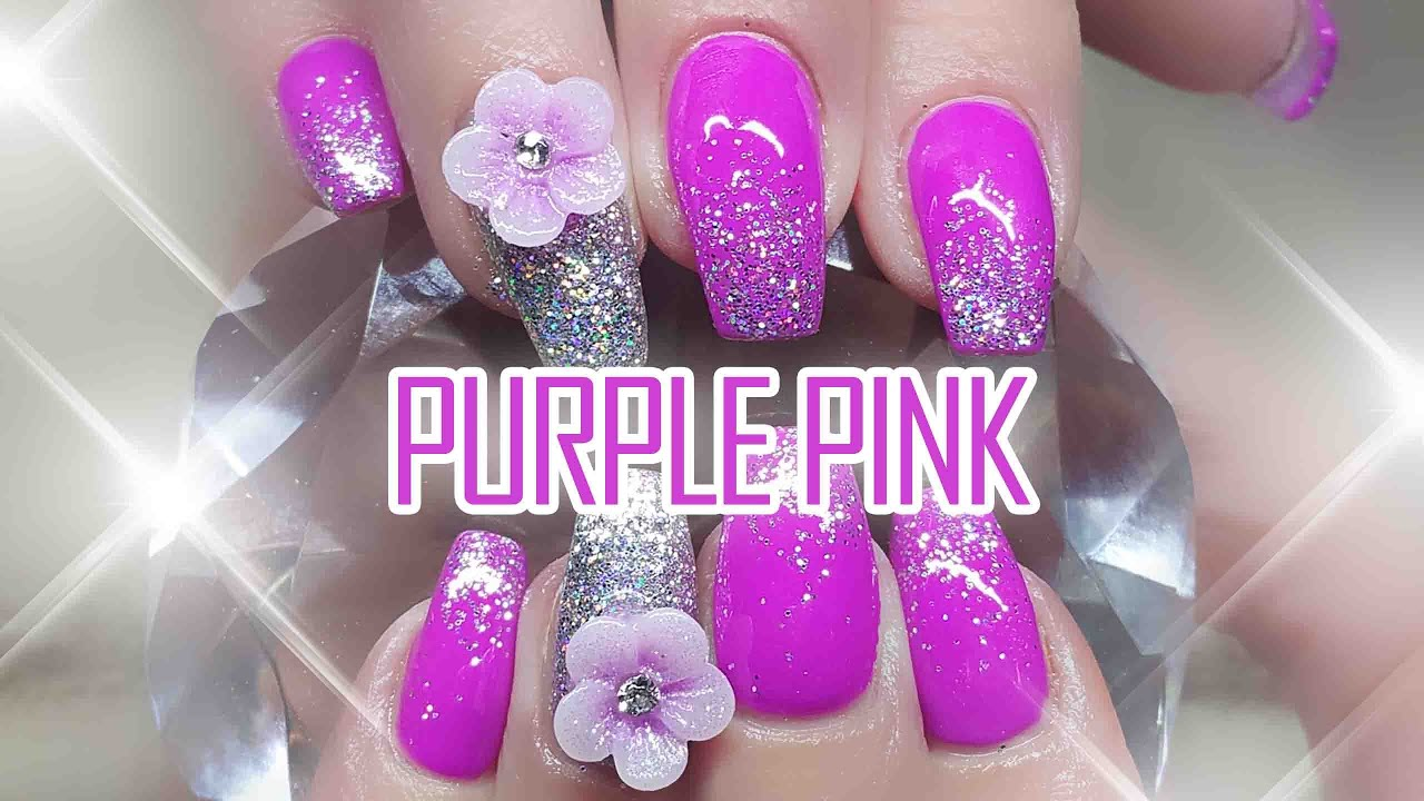 Purple And Pink Acrylic Nails | Best Nail Designs 2018
