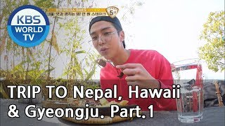 A trip alone to Nepal, Hawaii & Gyeongju Part.1 [Battle Trip/2019.03.10]