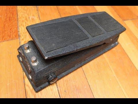 Bad Stone Pedal Vintage 1976 Wah Wah Style (EH 5801)