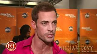 William Levy @willylevy29 backstage #DWTS (GalaEliminación) // ETOnline