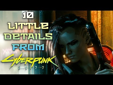10 Little Details You May Have Missed From Cyberpunk 2077s Gameplay Reveal