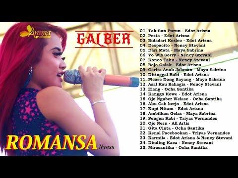 ROMANSA Terbaru Anniversary GALBER 2017 FULL ALBUM
