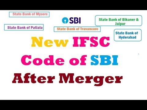 New IFSC Code of SBI After Merger - sbt, sbm, sbbj, sbp, sbh