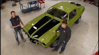 Adding Custom Paint and Racing Stripes to a 1970 Camaro RS/SS - MuscleCar S6, E9