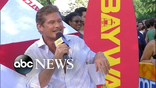 David Hasselhoff hit the gym for 6 weeks to work with