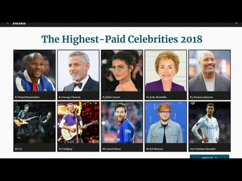 تعرف على أغنياء العالم بين المشاهير بحسب تصنيف فوربس  - نشر قبل 39 دقيقة