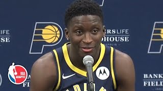 Victor Oladipo full press conference | Indiana Pacers | 2019 NBA Media Day