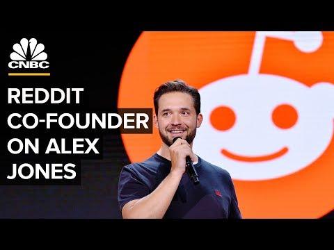 Alexis Ohanian On Alex Jones' Twitter Suspension | CNBC