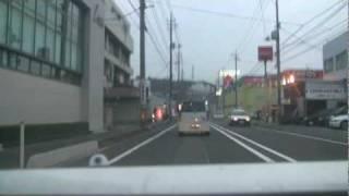 下関市街のドライブ 2009.11.8. ‐8