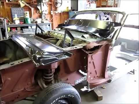1965 Mustang Cowl And Firewall Part 1 Youtube