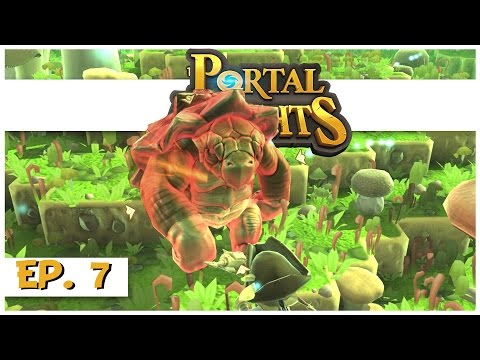 Portal Knights - Ep. 7 - Finding Iron Ore! - Let