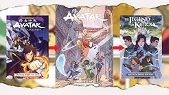 AVATAR COMICS: Die RICHTIGE REIHENFOLGE! | Avatar - Der Herr der Elemente