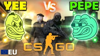 Yee vs Pepe Olympics - EU CSGO - Event 2 (Funny Commentary)