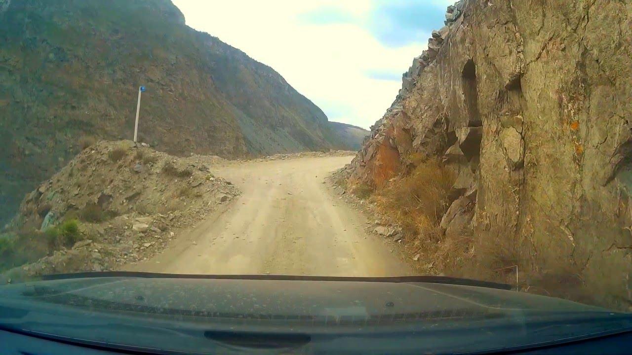 Подъем на перевал Кату-Ярык. Горный Алтай, май 2016 - YouTube