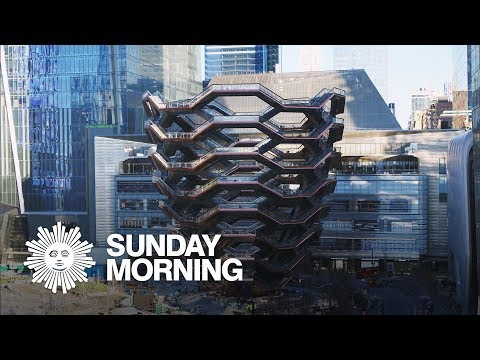 The Vessel: Thomas Heatherwick's oversized public art structure