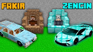 FAKİR ARABACI VS ZENGİN ARABACI 😱 - Minecraft