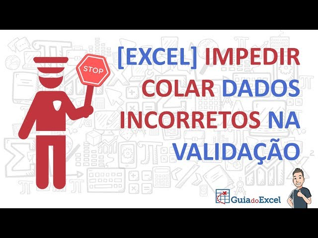 Colar em uma planilha obedecendo a validação de dados Excel