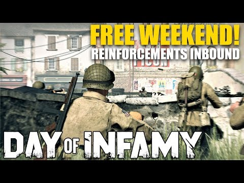 Day of Infamy Free Weekend Announcement!