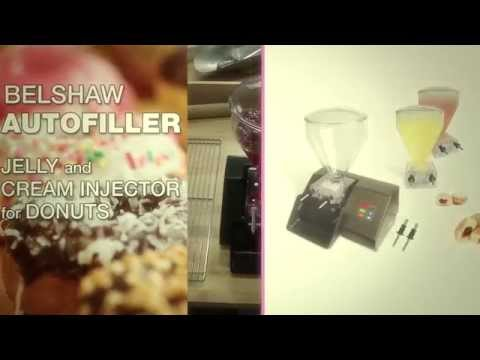Autofiller - Jelly, Creme And Custard Filler-injector For Donuts
