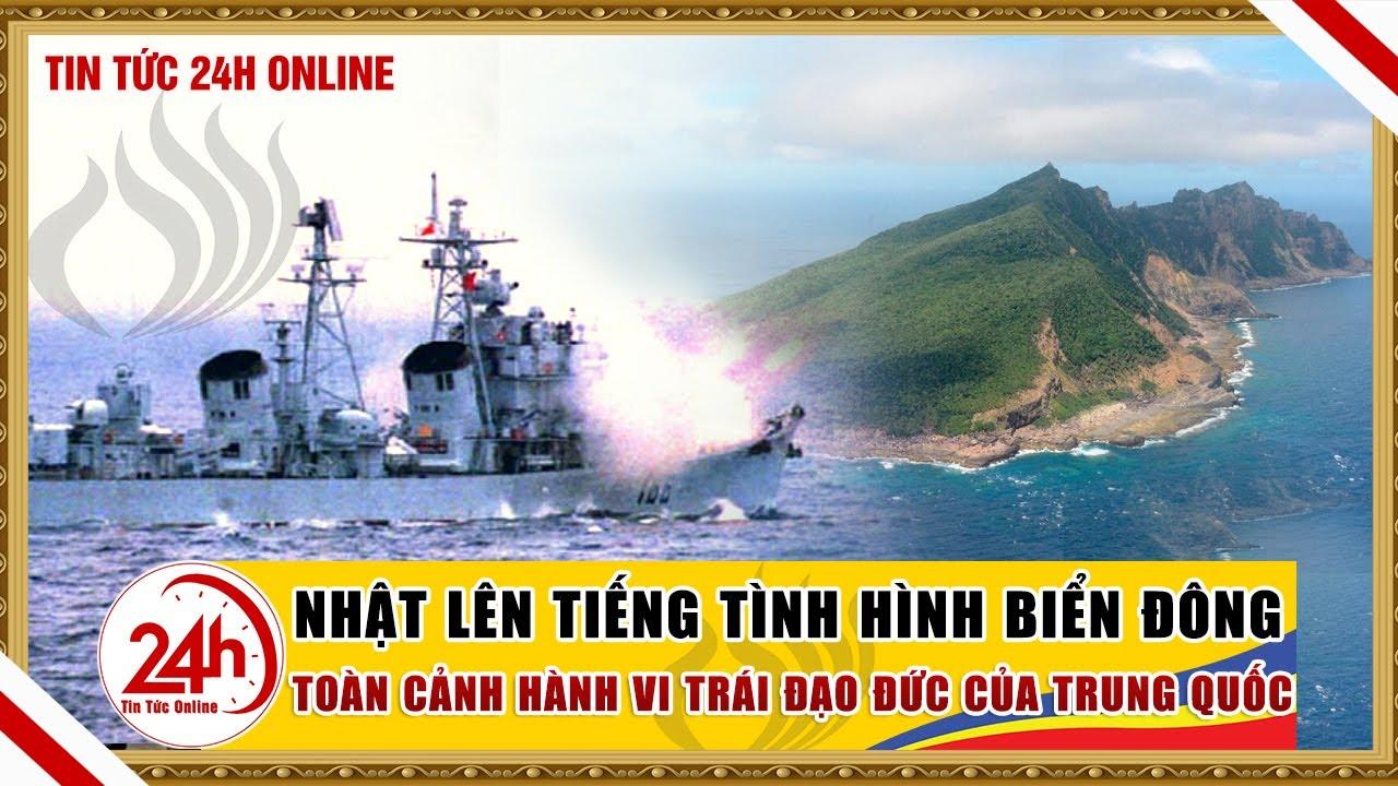 Tin Biển Đông 23/4 Nhật Lên Tiếng Tình hình Biển Đông, Trung quốc hành xử trái đạo đức.Tin nóng 24h