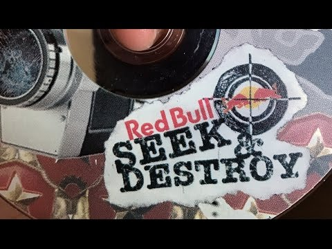 RED BULL SEEK AND DESTROY 1 skateboard contest 2004