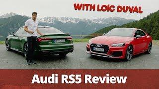 Audi RS5 in Sonoma Green & Tango Red | Loïc Duval
