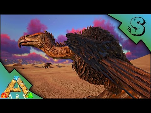 VULTURE TAMING! PLUS ARGY TAME! | Ark: Scorched Earth [Gameplay E6]