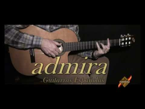 Guitarras admira modelo virtuoso ect youtube for Guitarra admira