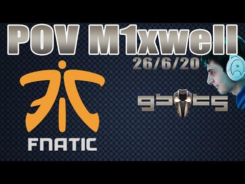 PoV | M1xwell Gbots vs Fnatic en ESL MWC EXPO Barcelona 2016