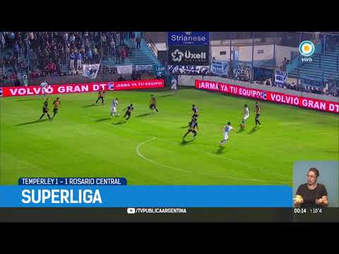 Superliga: Temperley 1-1 Rosario Central