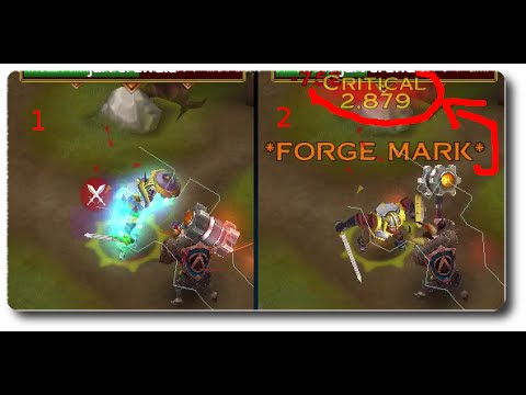 Arcane Legends - [Warrior Weapon] Flame Forget Hammer